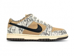 Nike SB Dunk Low x Travis Scott White/Beige