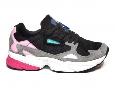 Adidas Falcon Black/Grey/Pink PS