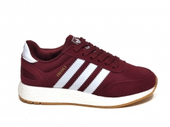 Adidas Iniki Runner Burgundy/White/Gum PS