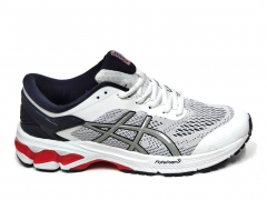 Asics GEL KAYANO 26 White/Navy/Red PS