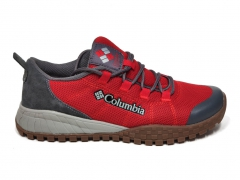 Columbia Men's Shoe Red/Grey/Gum PS