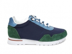 Loro Piana Sneakers Wind Navy/Green/Blue PS
