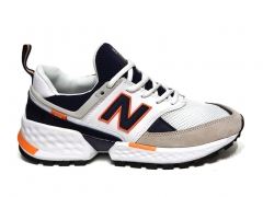 New Balance 574 Sport V2 White/Navy/Orange PS