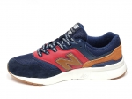New Balance 997H Navy/Red/Brown PS