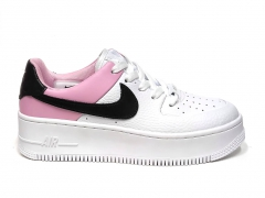 Nike Air Force 1 Low Sage White/Pink/Black PS