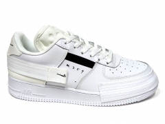 Nike Air Force 1 Low Type White/Black PS