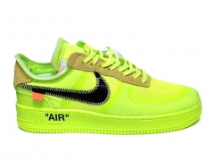 Nike Air Force 1 Low x Off-White Volt PS