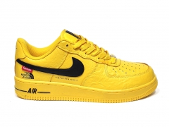 Nike Air Force 1 x Supreme The North Face Yellow/Black PS