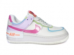 Nike Air Force 1 Low Shadow White/Pink/Purple PS