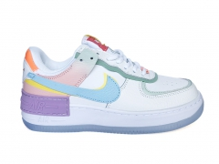 Nike Air Force 1 Low Shadow White/Diamond Blue PS