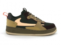 Nike Air Force 1 Low AC Olive/Brown/Orange PS