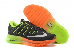 Nike Air Max 2016 black/green/orange