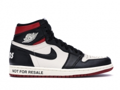 "Air Jordan 1 Retro ""Not for resale"" Varsity Red AJ19"