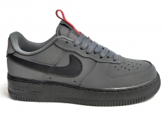 Nike Air Force 1 07 Low Anthracite/Black/Red
