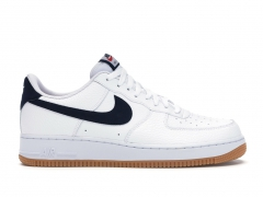 Nike Air Force 1 07 Low White/Obsidian/Gum