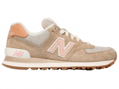 New Balance 574 Beige/Pink PS
