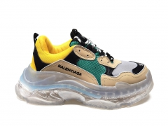 Balenciaga Triple S Clear Sole Beige/Green/Yellow PS