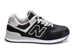 New Balance 574 Black/White/Grey PS