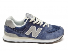 New Balance 574 Blue/Grey/Beige PS