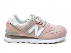 New Balance 574 Pink/Grey/White PS