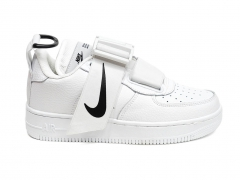 Nike Air Force 1 Low Utility White/Black PS