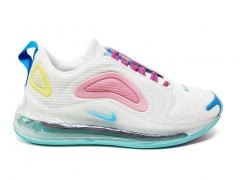 Nike Air Max 720 White/Pink/Yellow PS