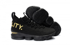 Nike LeBron 15 Equality Black/Gold