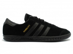 Adidas Hamburg All Black