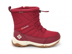 Дутики Columbia Waterproof Red (с мехом)