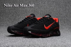 Nike Air Max 360 Black/Red