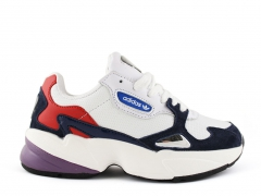 Adidas Falcon Leather White/Navy