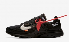 Nike Air Presto x Off-White The Ten Black/White-Cone