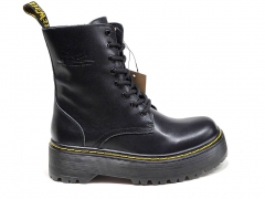 Ботинки Dr. Martens Jadon Leather Platform Black