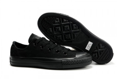 Converse Chuck Taylor All Star Low Top Mono Black 1