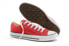 Converse Chuck Taylor All Star Low Top Red/White 1