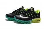 Nike Air Max 2016 black/green