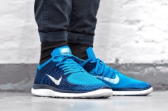 Nike Free Run 4.0 Flyknit blue/white