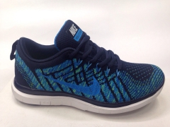 Nike Free Run 4.0 Flyknit dark blue