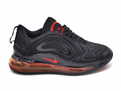 Nike Air Max 720 Black/Solar Red