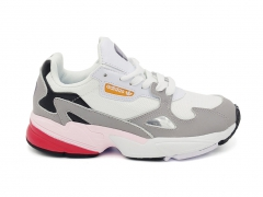 Adidas Falcon White/Grey/Black/Pink
