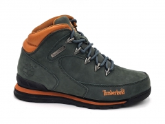 Timberland Euro Sprint Matte Swamp/Orange (натур. мех)