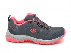 Columbia Waterproof Thermo Sneakers Grey/Pink