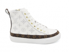 Louis Vuitton Stellar Sneaker Boot White/Brown