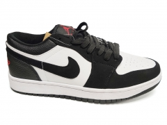 Air Jordan 1 Retro Low Black/White/Red