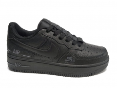 Nike Air Force 1 Low Branded Black
