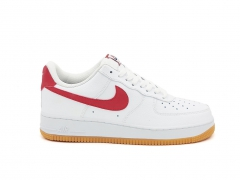 Nike Air Force 1 Low White/Red/Gum