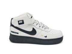 """Nike Air Force 1 Mid Therma White/Black """"Just Do It"""""""