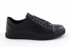 Gucci Ace Sneaker Black Leather gcc2