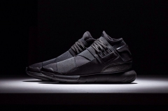 Adidas Y-3 Qasa High triple black