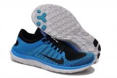 Nike Free Run 4.0 Flyknit blue/black